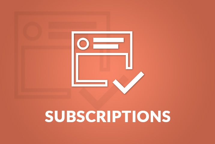 Subscriptions Continued