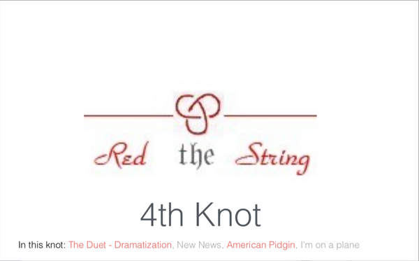 Fourth Knot corrected & Available online