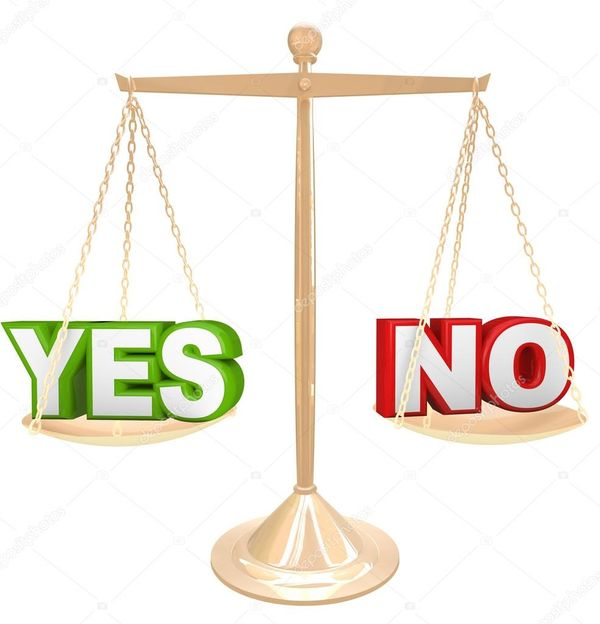Yes vs. No