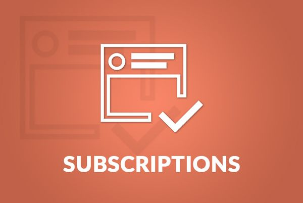 Subscriptions Reminder